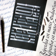 Интенсив «Знакомство с каллиграфией» с 5 по 8 июня!