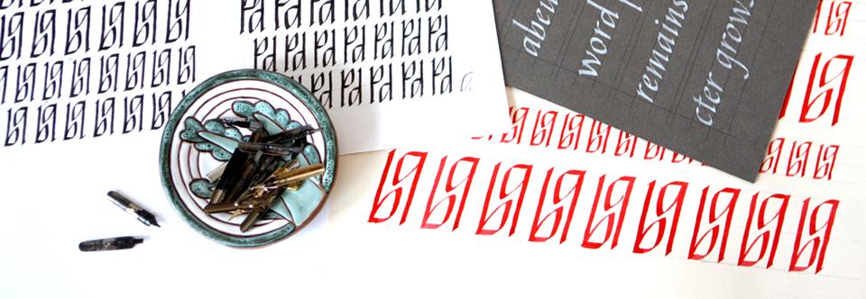 Расписание курса «Знакомство с каллиграфией» на май.