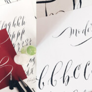 Мастер-класс «Знакомство с modern calligraphy» 22 апреля!