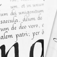 Курс «Итальянский курсив» по вечерам среды  с 6 сентября!