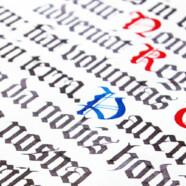 Курс «Готическое письмо» с 7 октября!