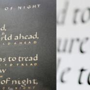 Утренняя группа курса «Европейская каллиграфия. Базовое письмо» по понедельникам с 13 ноября!