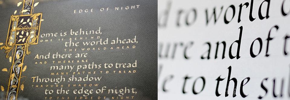 Вечерняя группа курса «Европейская каллиграфия. Базовое письмо» по пятницам с 12 января!