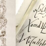 Новый мастер-класс «Скорописная азбука — свиток XVII века» — 15 октября!