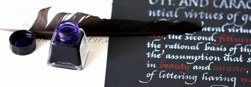 Расписание курса «Знакомство с каллиграфией» на декабрь!