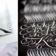 Вечерняя группа курса «Знакомство с каллиграфией» по вторникам с 10 апреля!