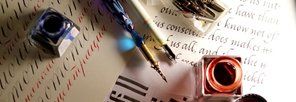 Расписание интенсива «Знакомство с каллиграфией» на лето!