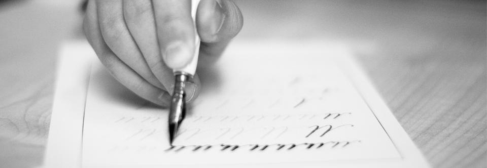 Курс «Знакомство с каллиграфией» для детей 7-10 лет!