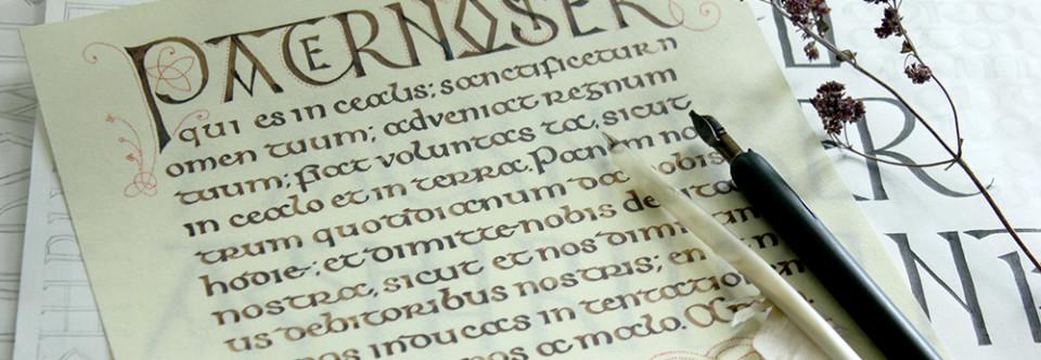 Интенсив «Кельтское письмо» с 26 по 30 августа!
