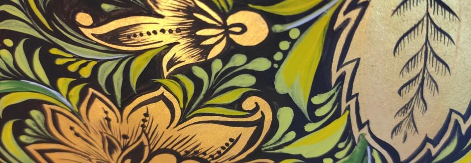 Новый курс «Роспись и орнамент» по пятницам с 29 ноября!