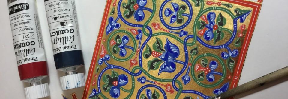 Мастер-класс «Византийский орнамент» 21-22 декабря!