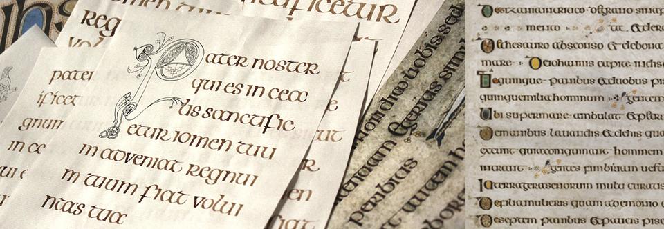 Курс «Кельтское письмо» по вторникам по вечерам с 4 мая!
