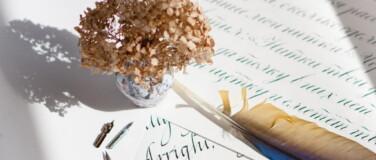 Расписание курса «Знакомство с каллиграфией» на октябрь: